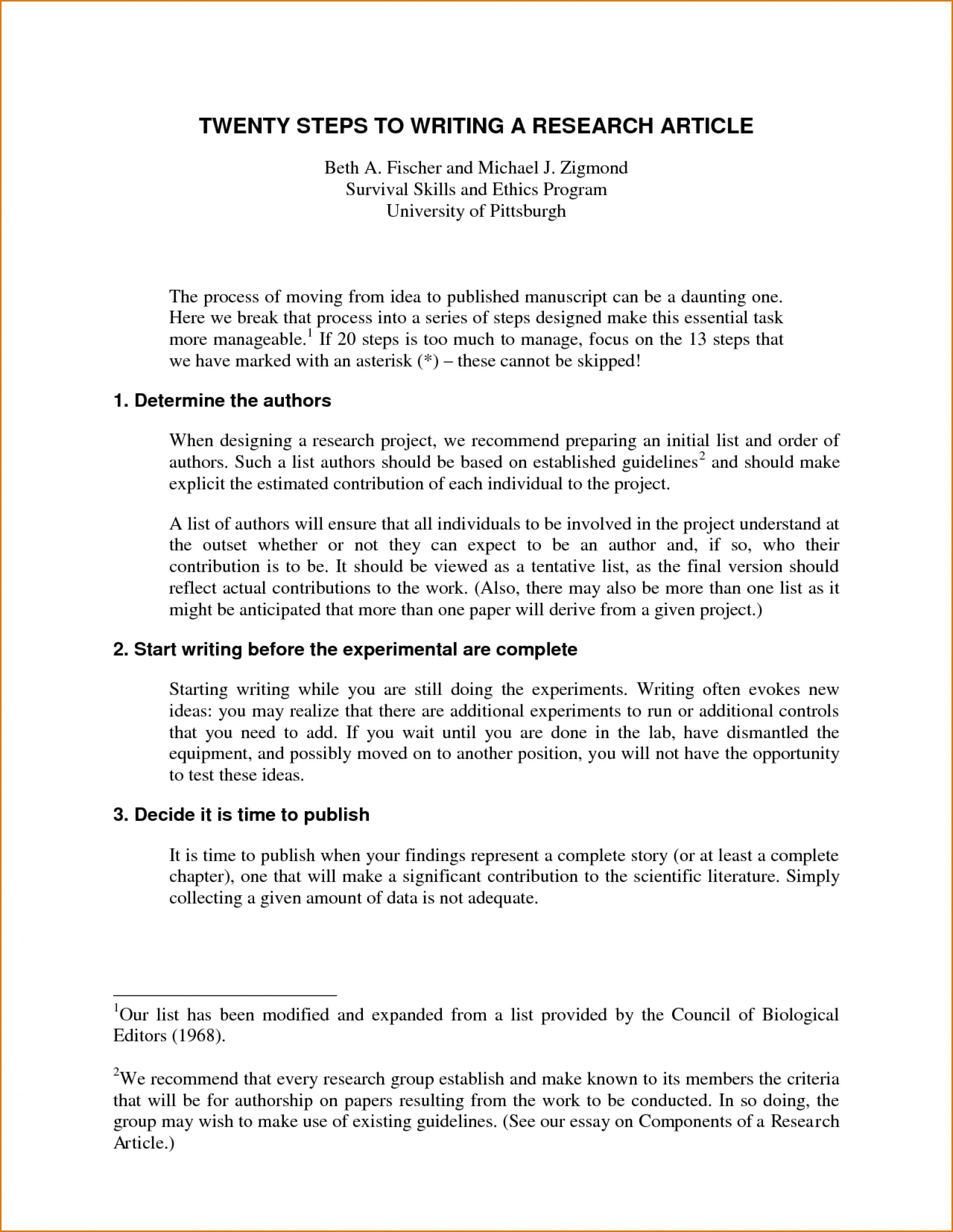 016 Research Paper How To Write Proposal Apa Amazing A 1920