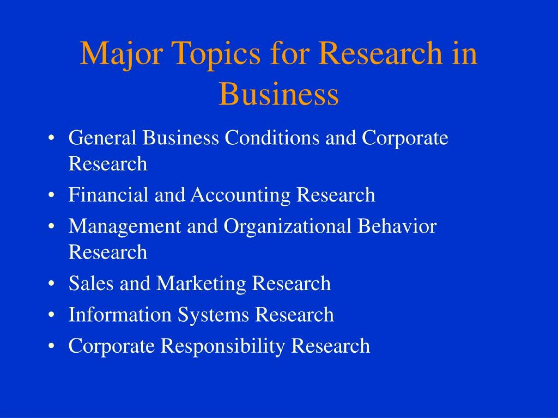016 Research Paper Major Topics For In Business L Dreaded Interesting Administration Management Pdf Information Systems 1920