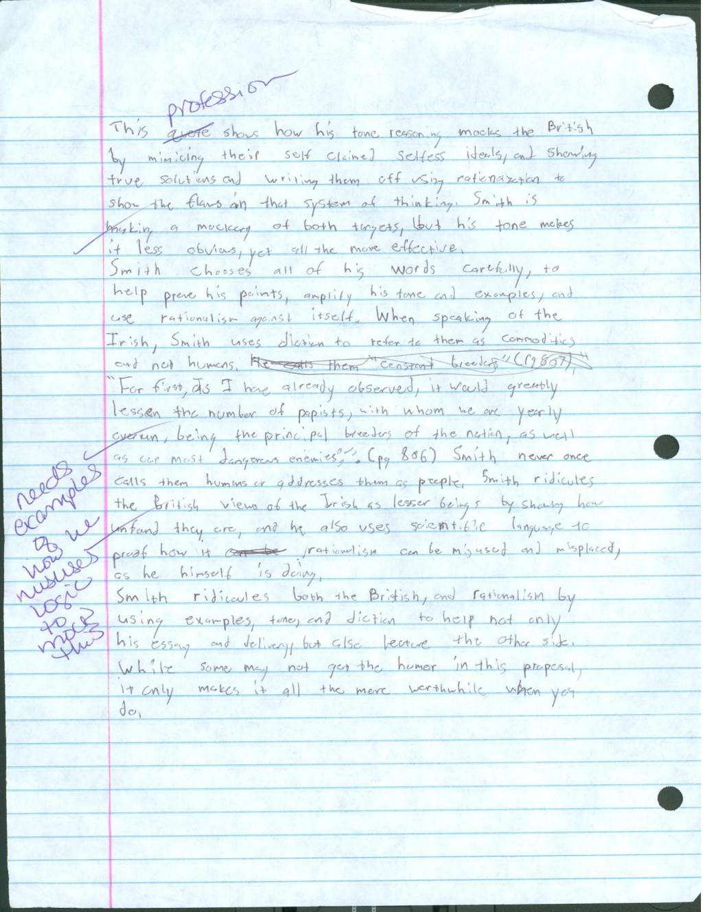 016 Research Paper Modest Proposal Essay Part 2 Formidable A Topics Large