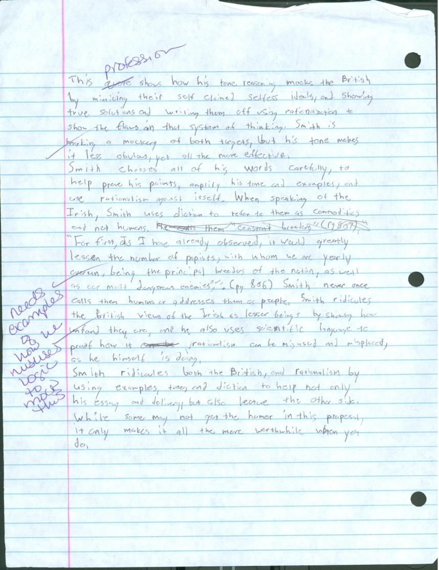 016 Research Paper Modest Proposal Essay Part 2 Formidable A Topics