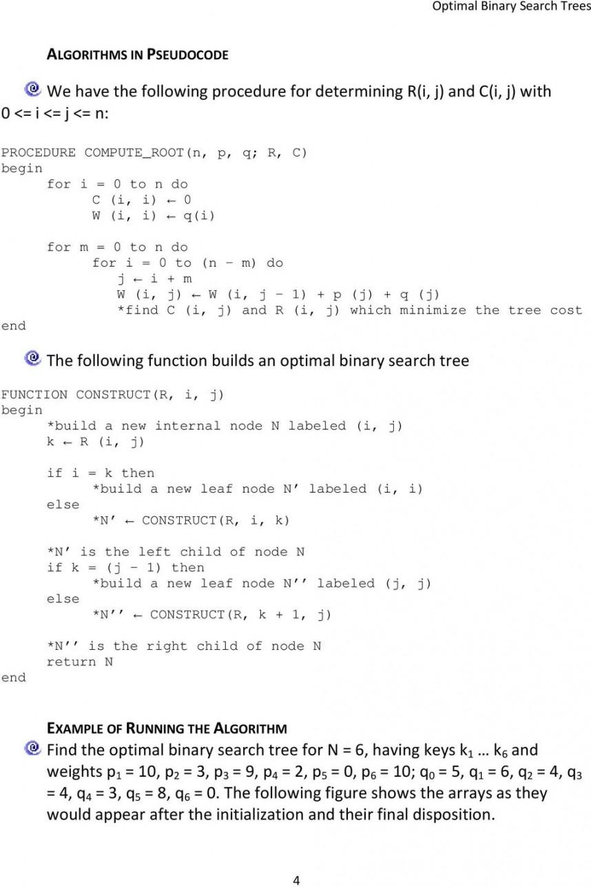 016 Research Paper Page 4 Binary Search Tree Formidable Papers