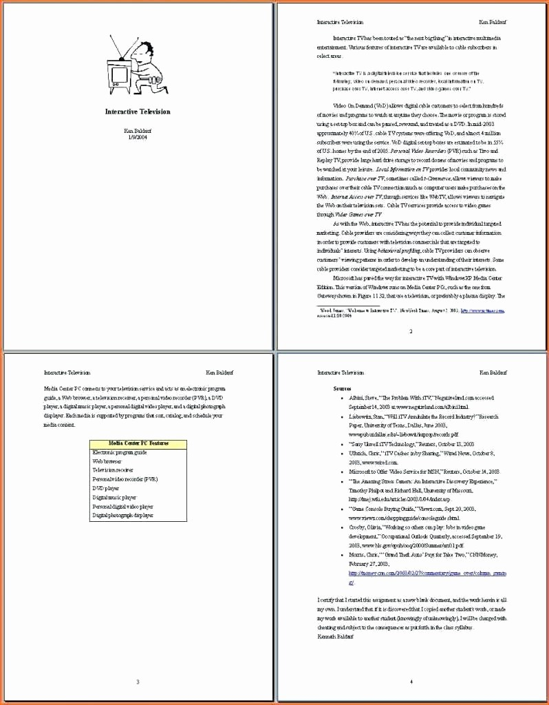 017 Apa Format For Research Paper Template Elegant Example Stupendous Word Outline Full