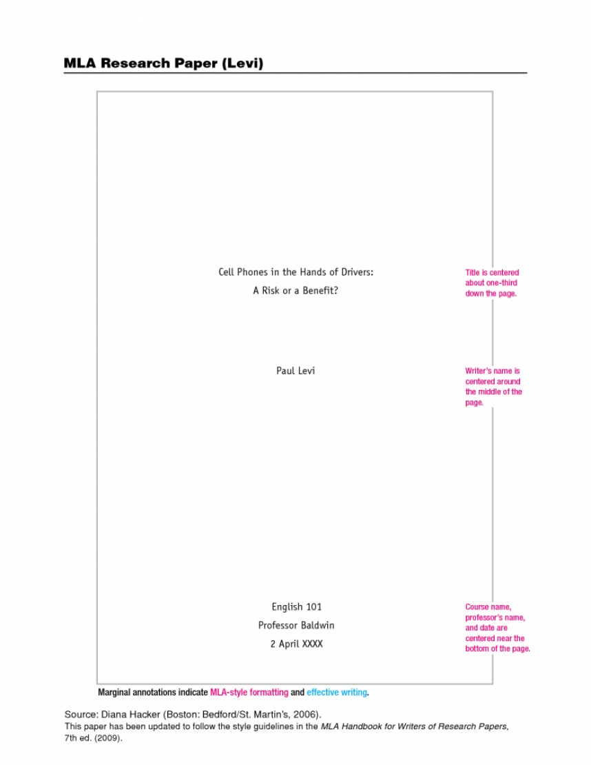 017 Awesome Collection Of Mla Cover Page Format Research Paper For Sample 791x1024 Formidable Sheet Apa Style Harvard