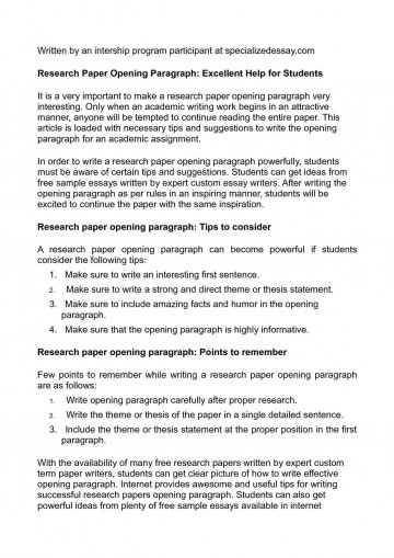 017 Cool Topics To Do Research Paper On Impressive A Interesting For Medical Of In Computer Science Economic 360