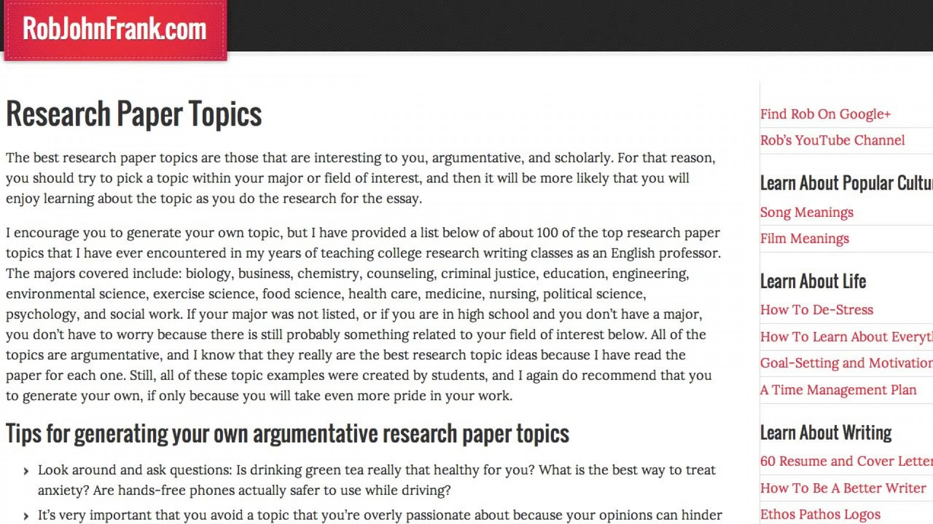 017 Cool Topics To Write Research Paper On Astounding A Interesting Essay Fun Easiest 1920