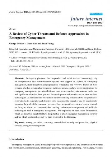 017 Cyber Security Research Paper Dreaded Example 360