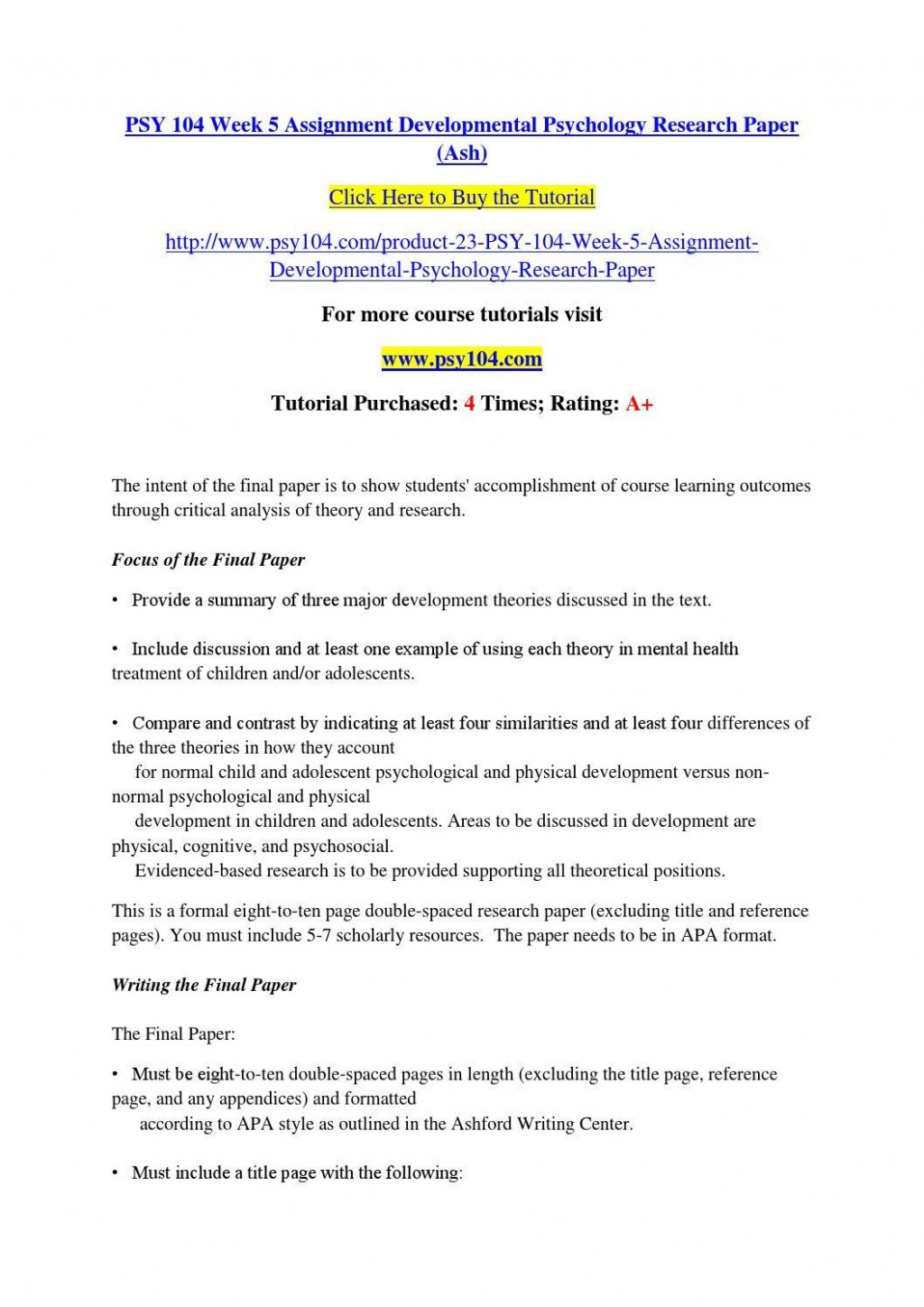 017 Developmental Psychology Essay Ideas Structure Psychological20ent Paper Topics Pdf20 Shocking Research Topic For College Students Computer Science Nursing Large