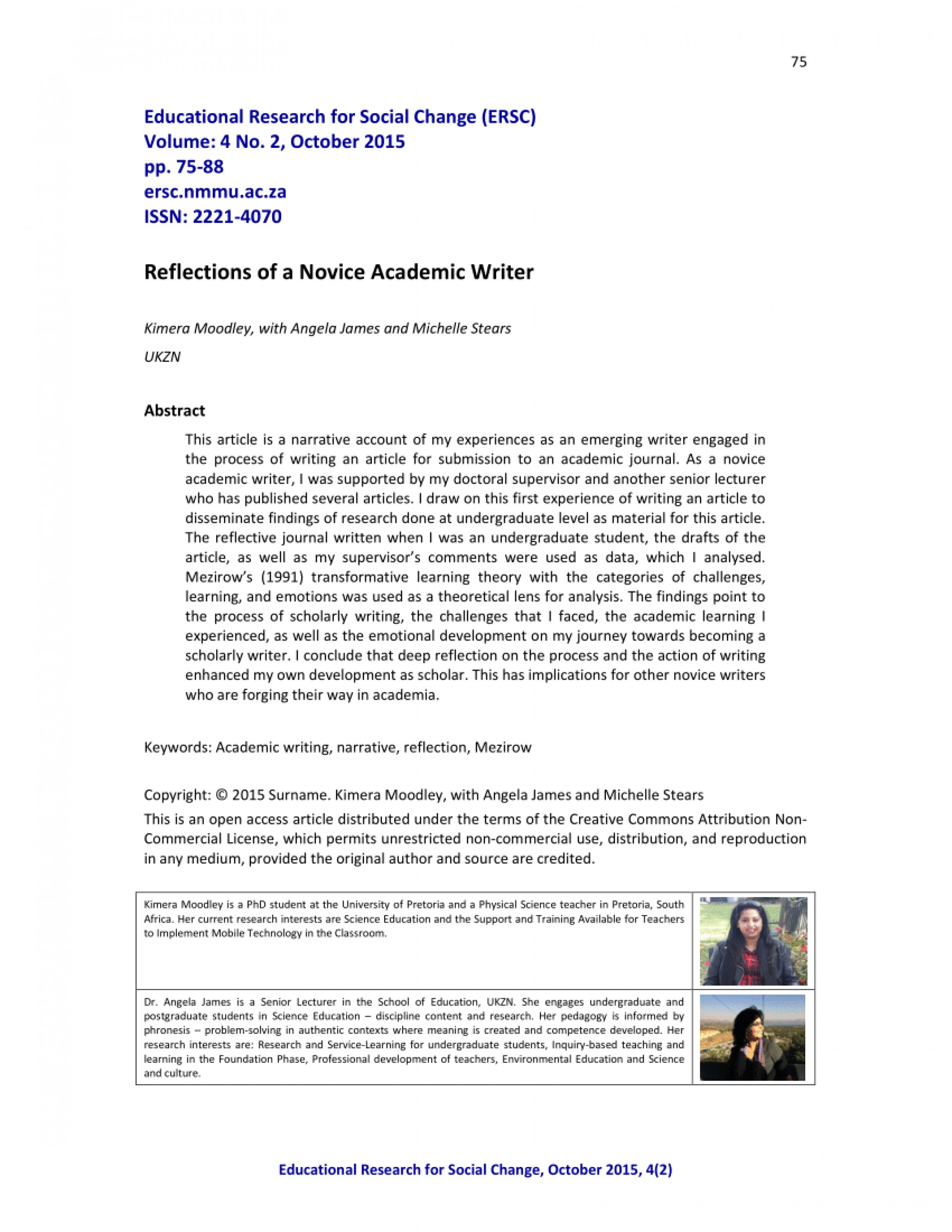 017 How To Publish Research Paper Without Professor Striking A 1920