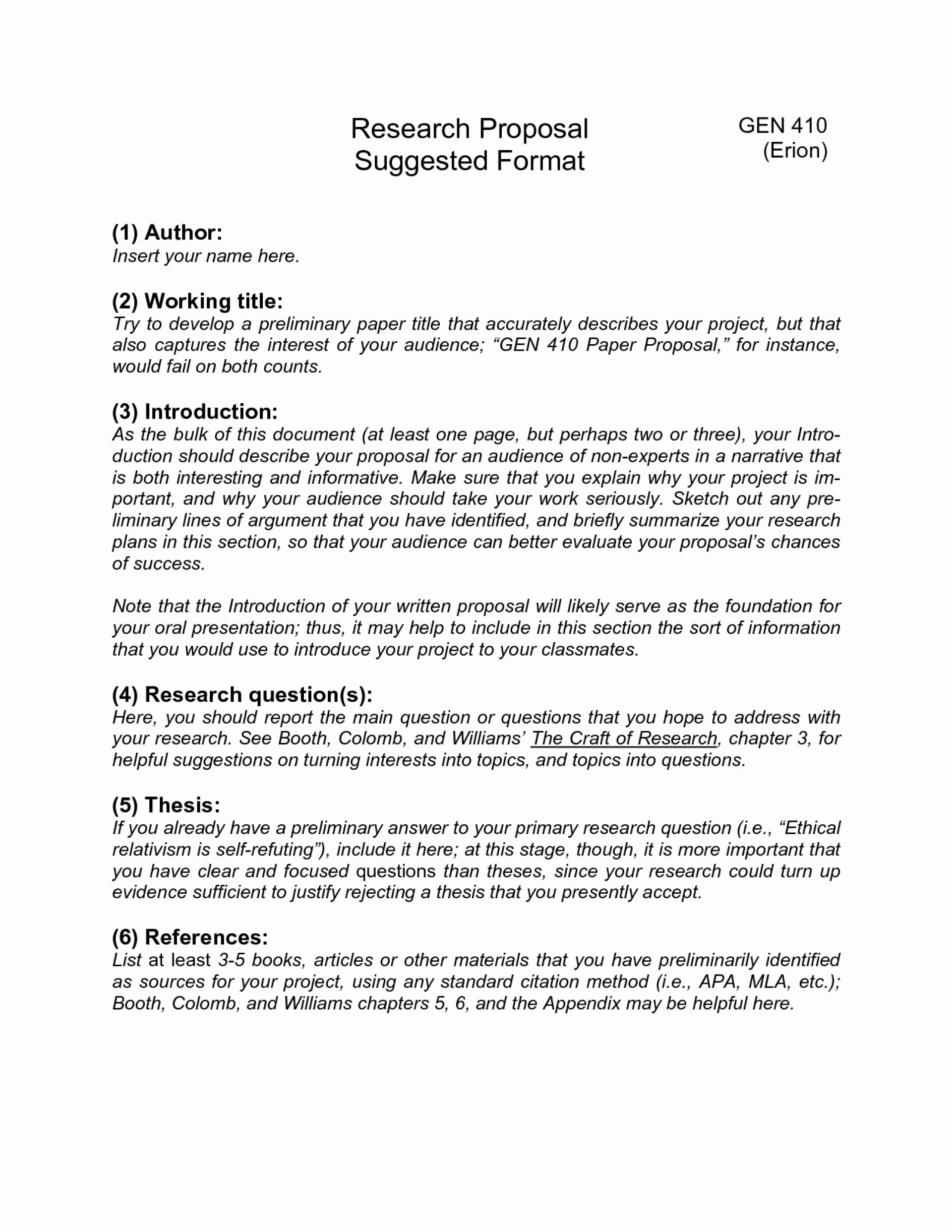 006 How To Start Research Paper Proposal ~ Museumlegs