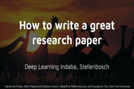 017 How To Write Great Research Paper Ppt Striking A Good Scientific