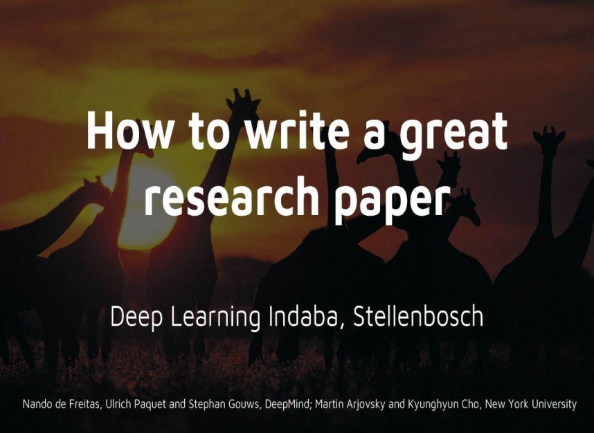 017 How To Write Great Research Paper Ppt Striking A Powerpoint Presentation Good