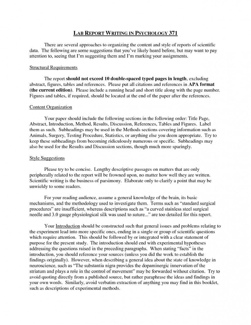 017 How To Write Methods Section Of Research Paper Fantastic A Materials And The Measures Apa