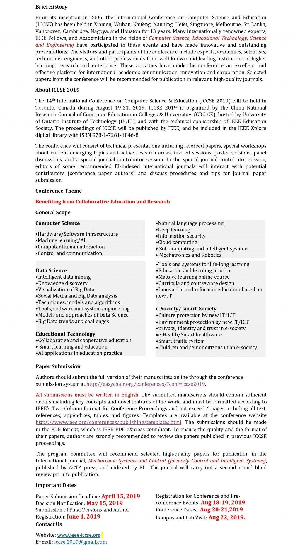 017 Ieee Researchs In Computer Science Pdf Cfp Phenomenal Research Papers Large
