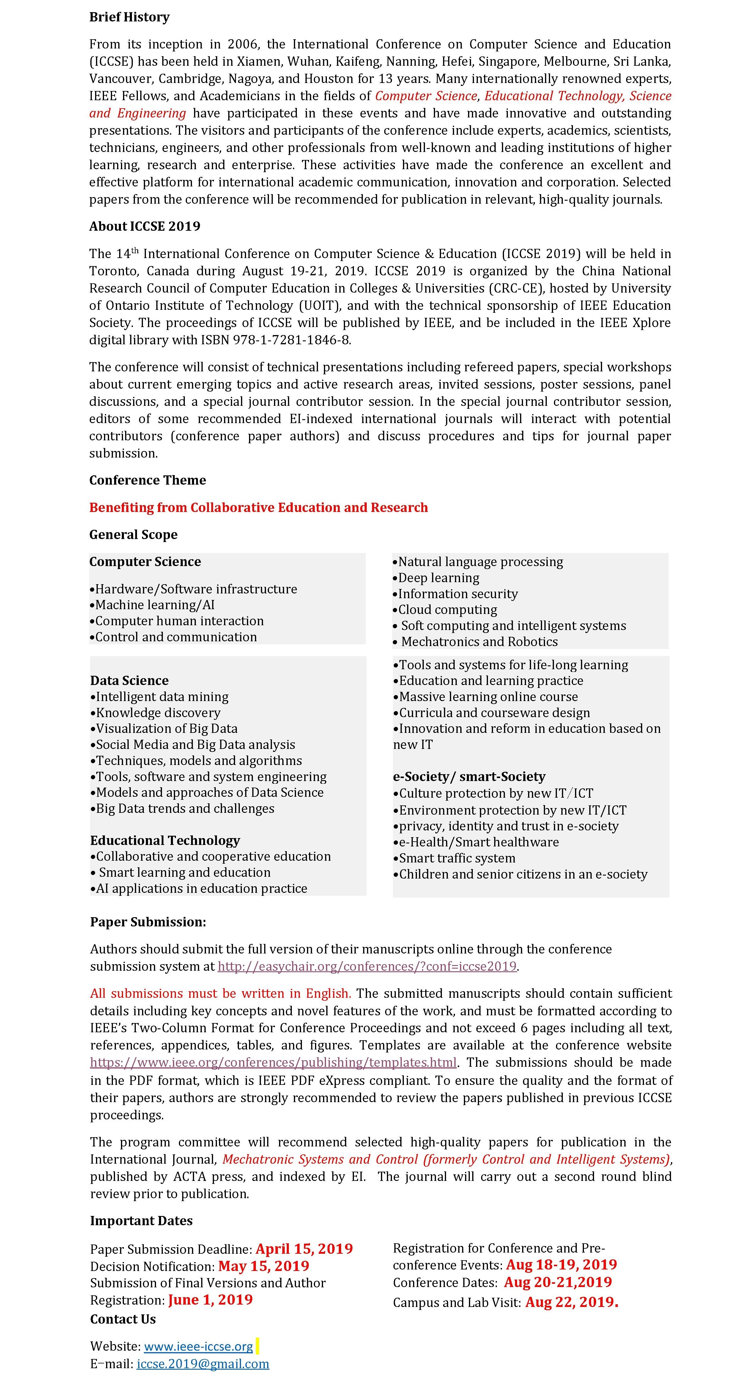 017 Ieee Researchs In Computer Science Pdf Cfp Phenomenal Research Papers Full