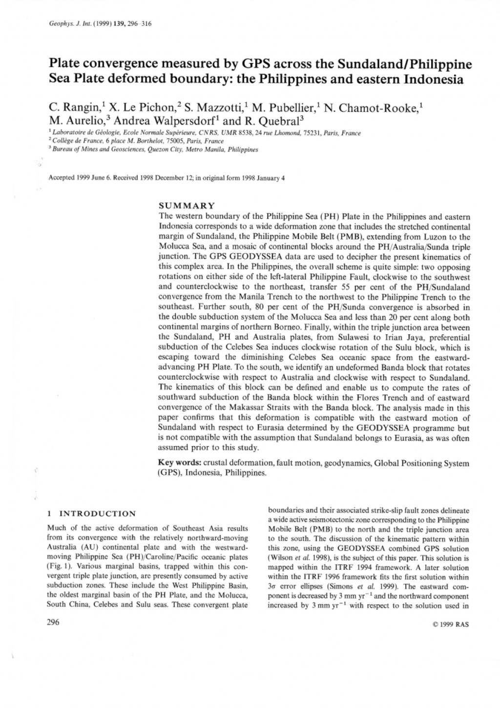 017 Largepreview Earthquake Research Paper Pdf Wondrous Philippines Large