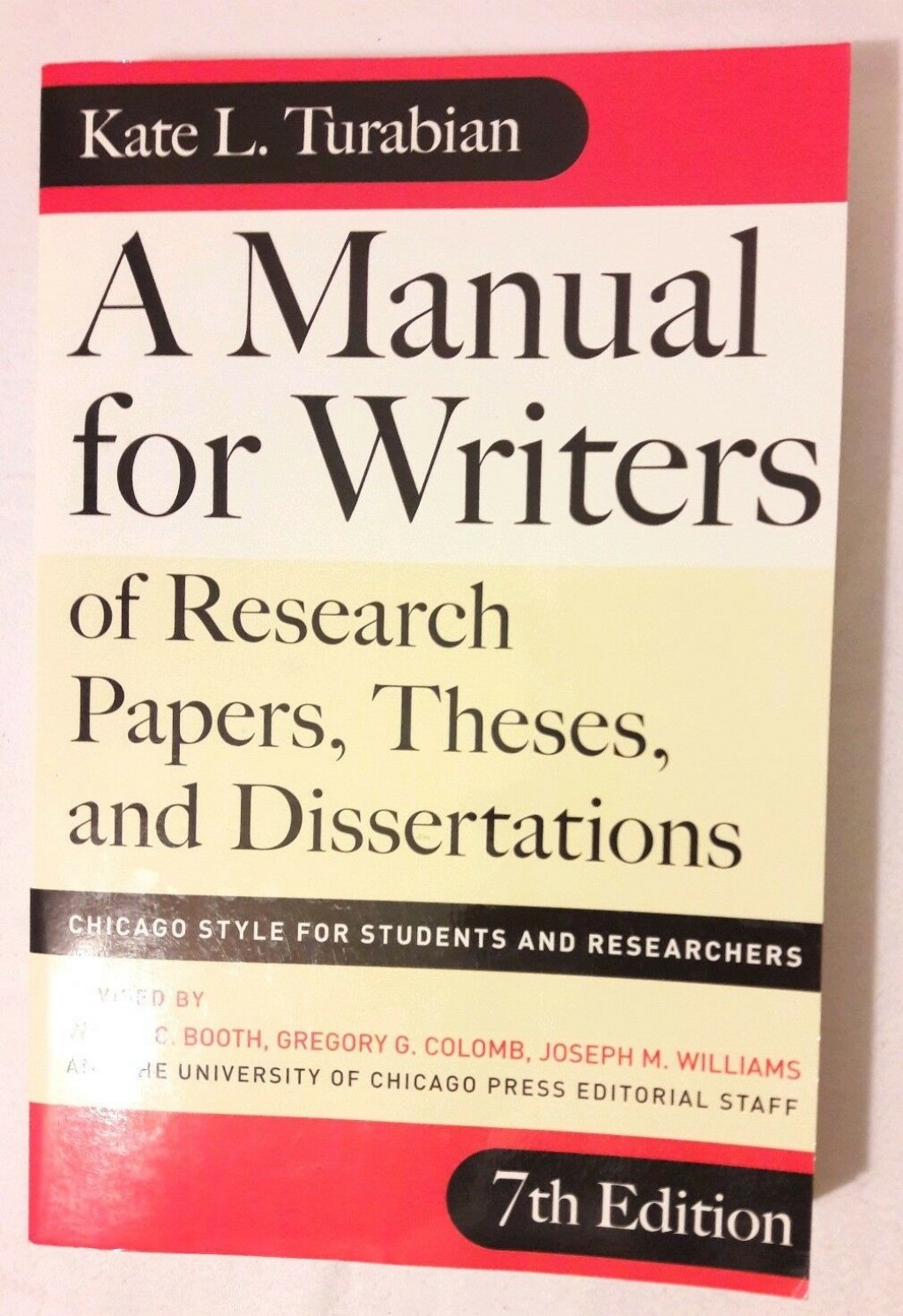 017 Manual For Writers Of Research Papers Theses And Dissertations By Kate L Turabian Paper S Sensational A L. Large