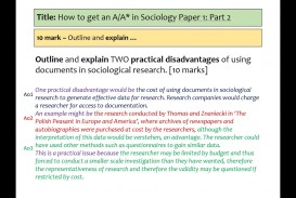 017 Maxresdefault Research Paper Aqa Sociology Methods Past Fantastic Papers Gcse Questions
