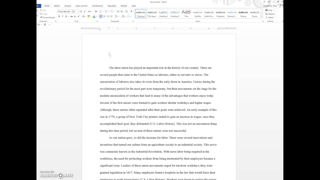Outline for a research proposal paper