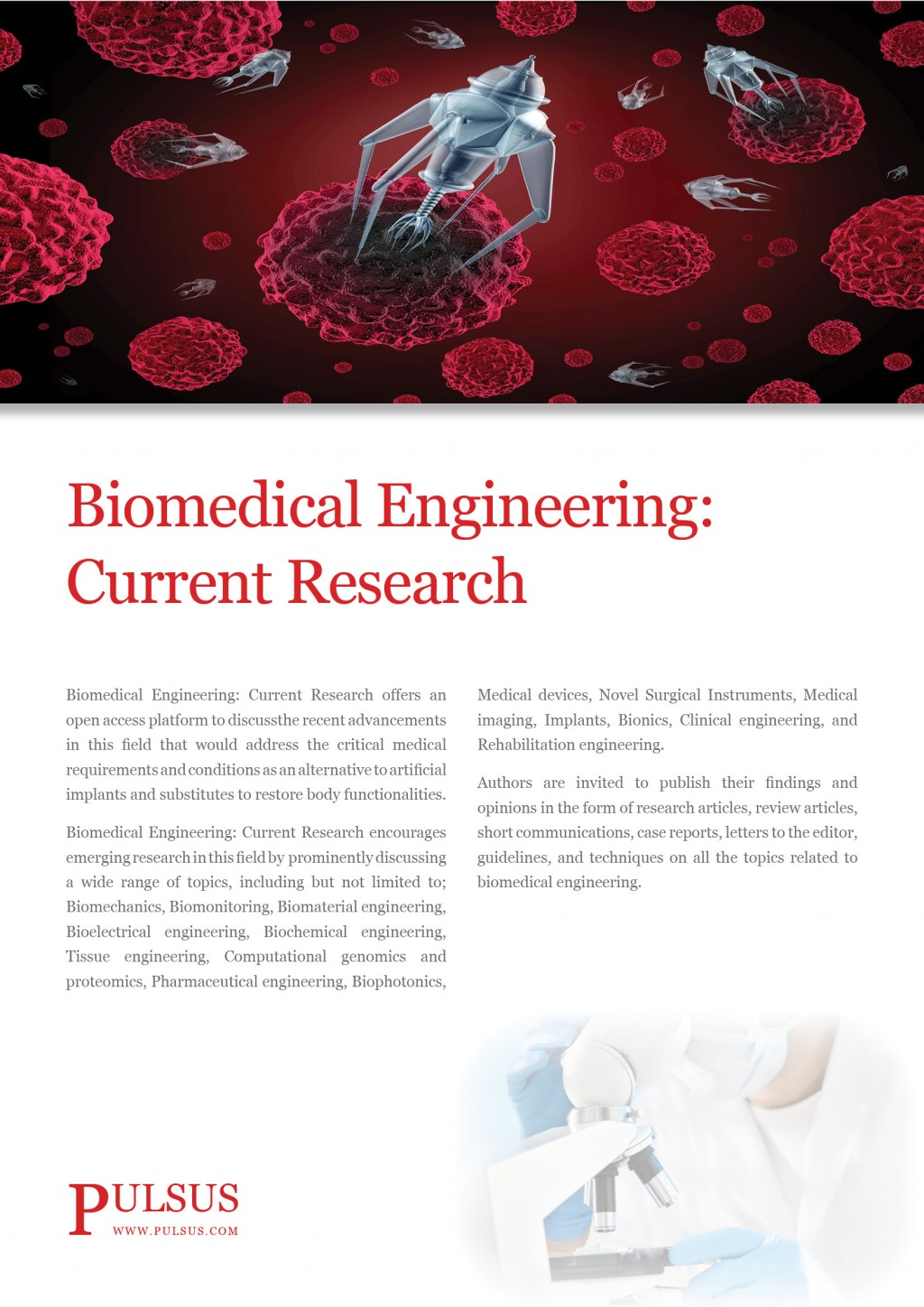 017 Medical Field Topics For Researchs Biomedical Engineering Current Flyer Imposing Research Papers Large