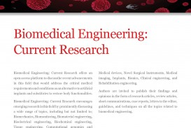 017 Medical Field Topics For Researchs Biomedical Engineering Current Flyer Imposing Research Papers