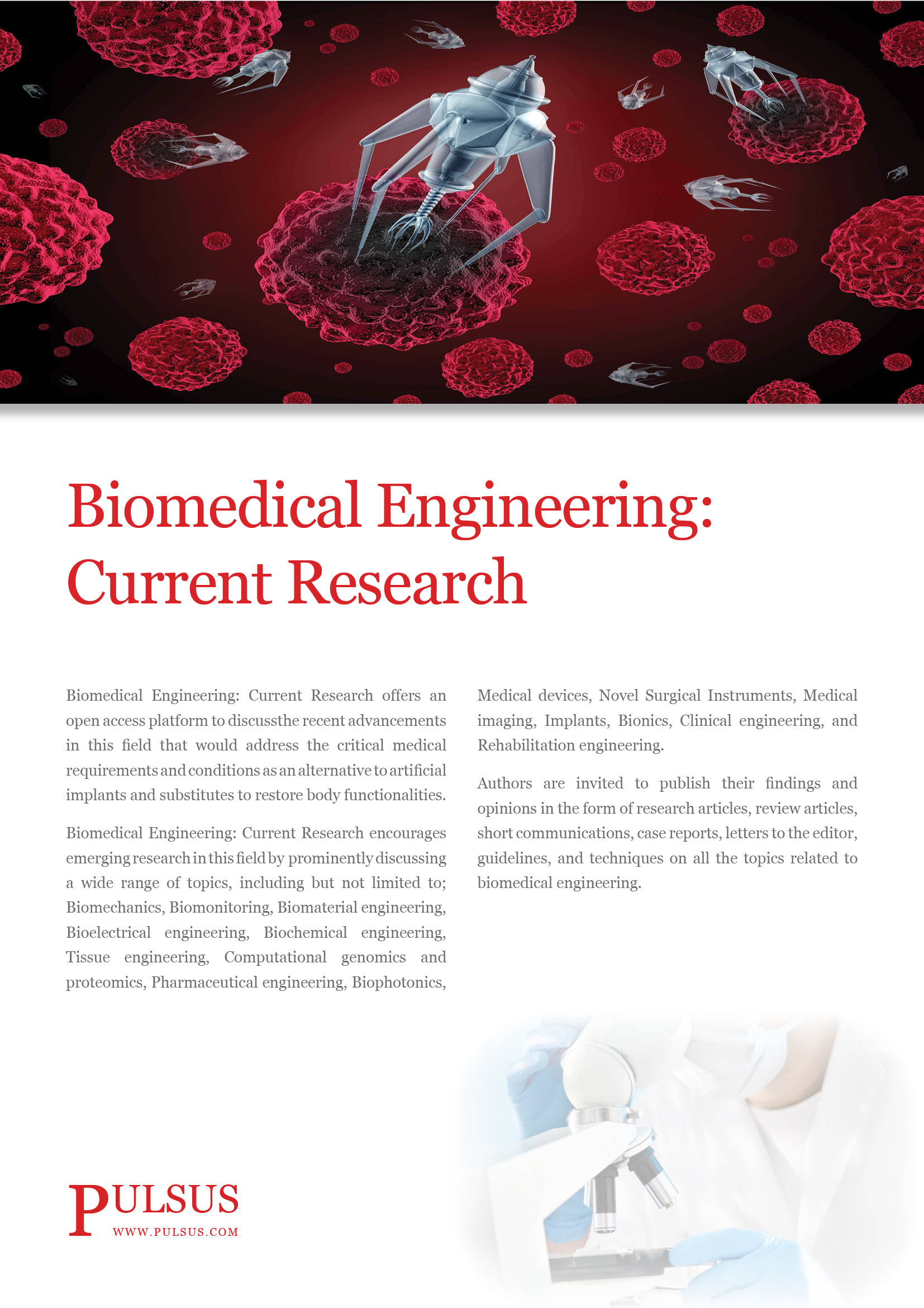 017 Medical Field Topics For Researchs Biomedical Engineering Current Flyer Imposing Research Papers Full