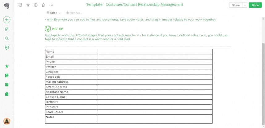 017 Note Card Maker For Research Paper Contact Relationship Management Evernote Marvelous