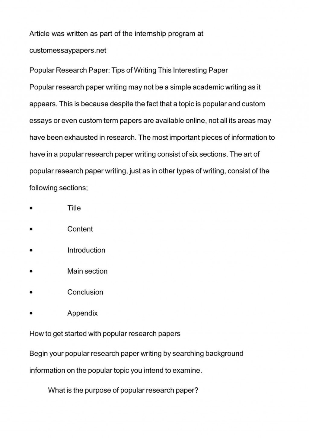 017 P1 Research Paper Interesting Topics Stupendous For College Papers High School Medical Large