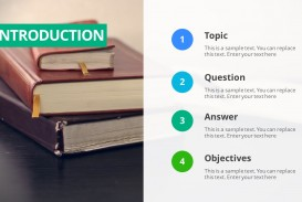 017 Parts Of Research Paper Ppt Thesis Powerpoint Template 16x9 Staggering A Qualitative Chapter 1