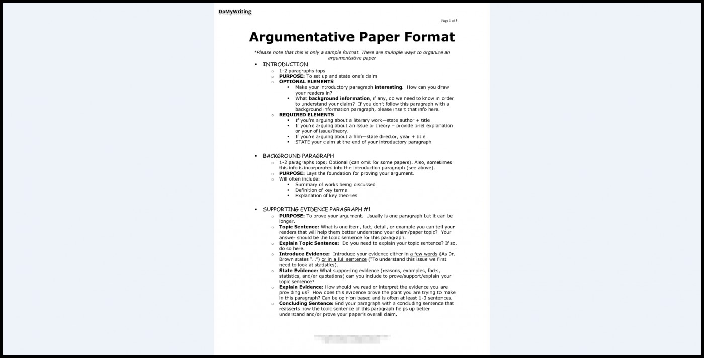 017 Research Paper Argumentive Argumentative Essay Marvelous Outline Template Thesis Example 1400