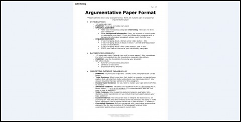 017 Research Paper Argumentive Argumentative Essay Marvelous Outline Template Thesis Example 480