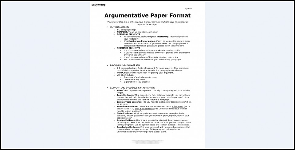 017 Research Paper Argumentive Argumentative Essay Marvelous Outline Template Thesis Example 960