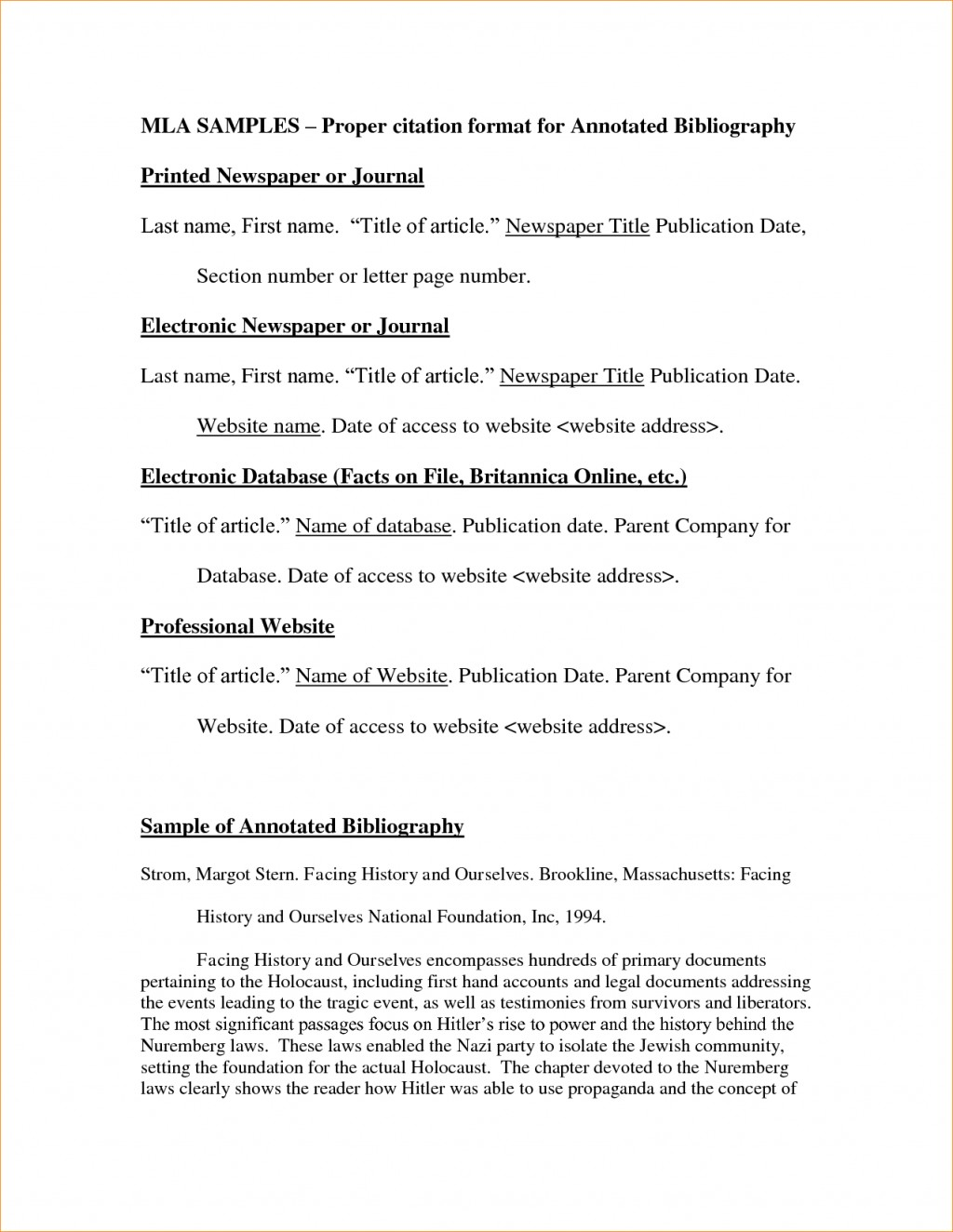 017 Research Paper Bunch Ideas Of Essay Bibliography Examplert Historynnotated Fantastic Sample For How To Cite In Outstanding A Website Parenthetically Citation From Do I Mla Large