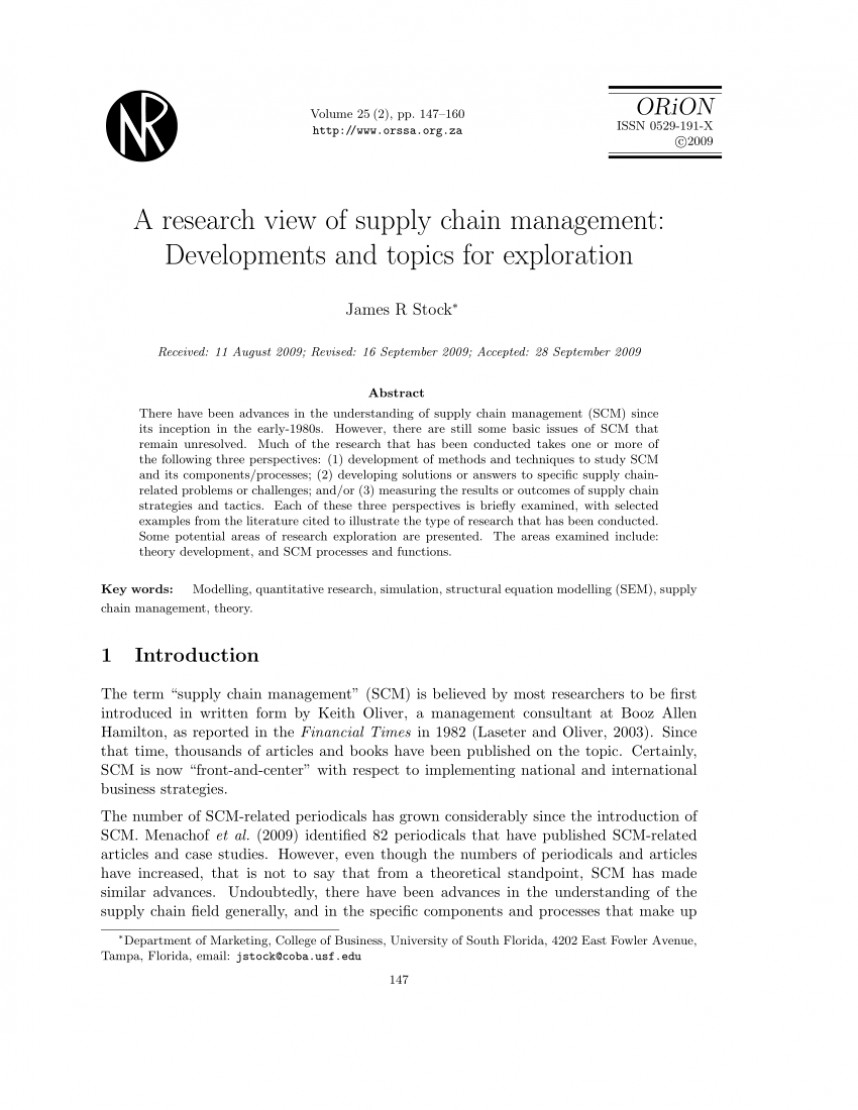 017 Research Paper Business Management Topics For Unusual Techniques