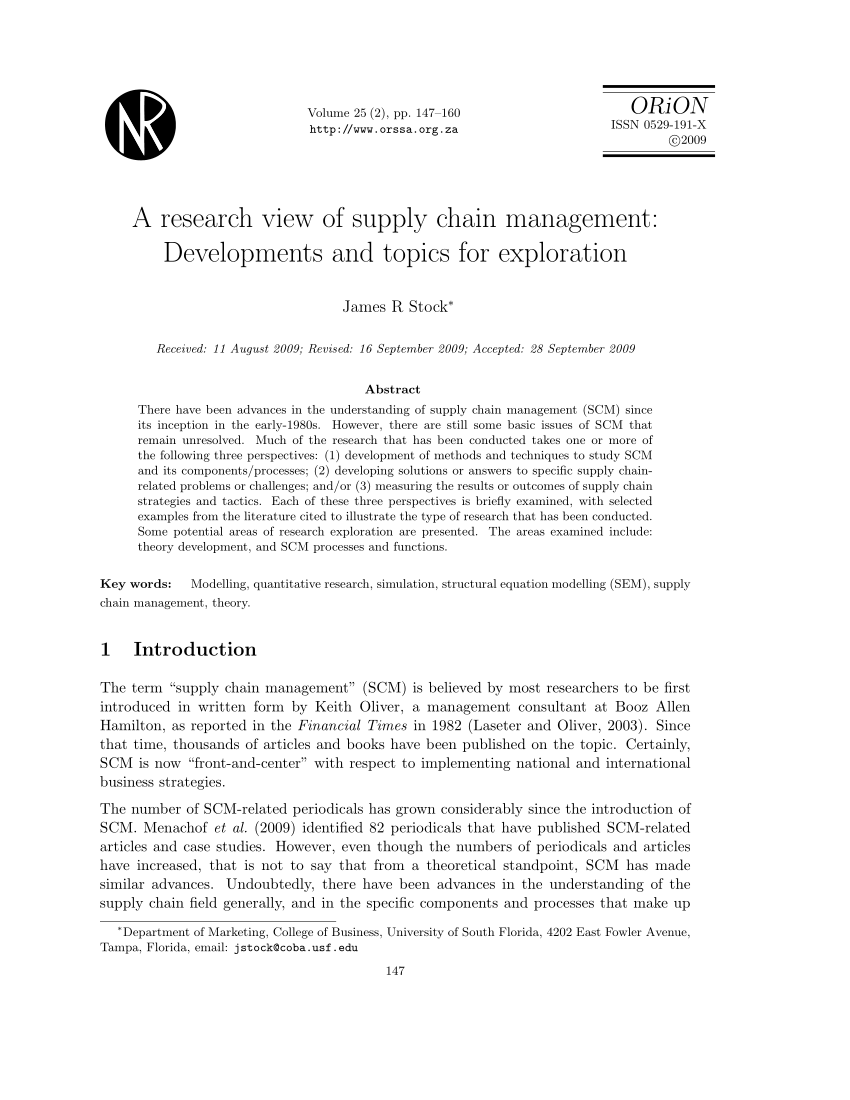017 Research Paper Business Management Topics For Unusual Techniques Pdf Full
