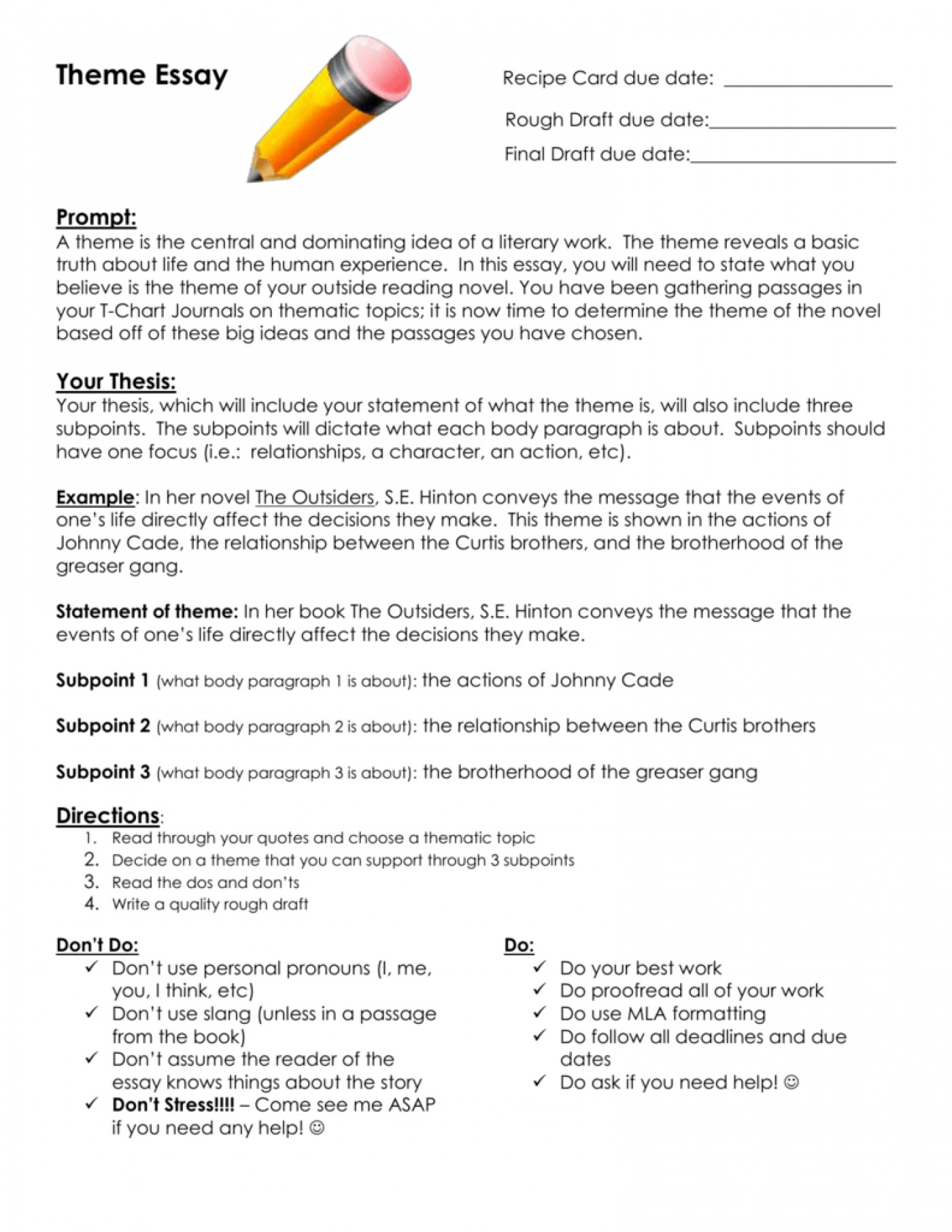 017 Research Paper Conclusion For Pdf The Outsiders Theme Essay Assignment Outline Questions Imposing A And Recommendation Paragraph Example Summary Of 1400