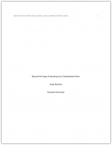 017 Research Paper Format Stunning Apa Writing Style Sample 2010 360