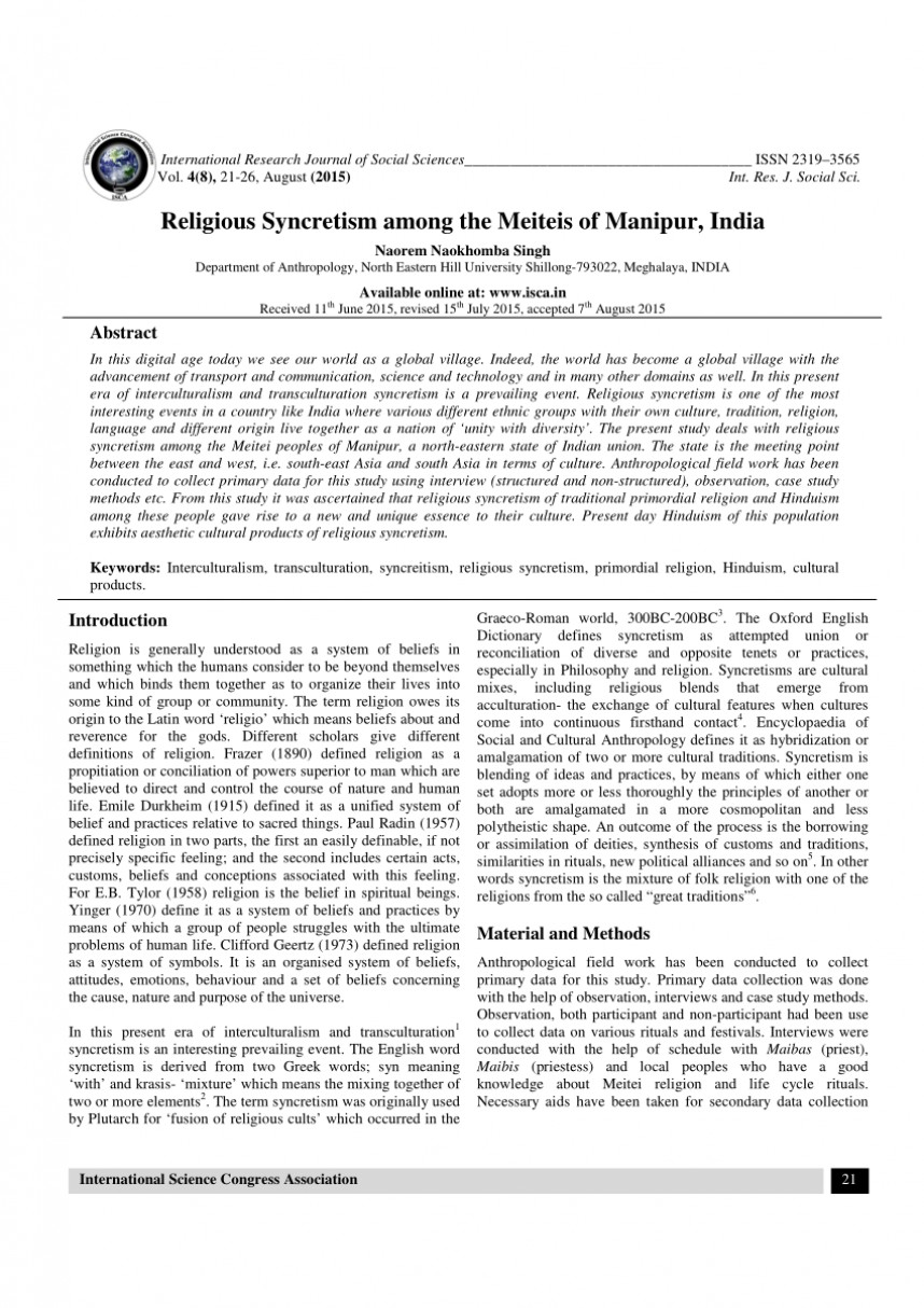 017 Research Paper Largepreview Anthropology Of Religion Fearsome Topics