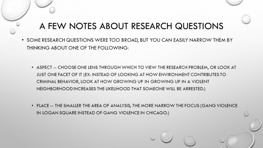 017 Research Paper Slide 2 Argumentative Topics For Fearsome Psychology