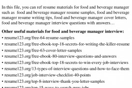 017 Top8foodandbeveragemanagerresumesamples Conversion Gate02 Thumbnail 4cbu003d1429946005 Research Paper Persuasive Astounding Papers Interesting Topics For