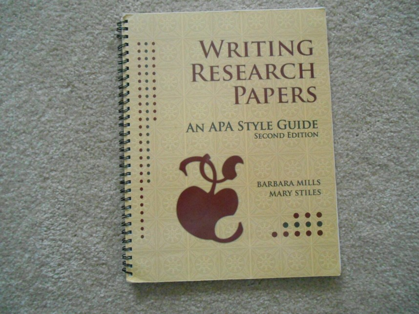 018 Apa Style Guide For Writing Researchs S L1600 Best Research Papers