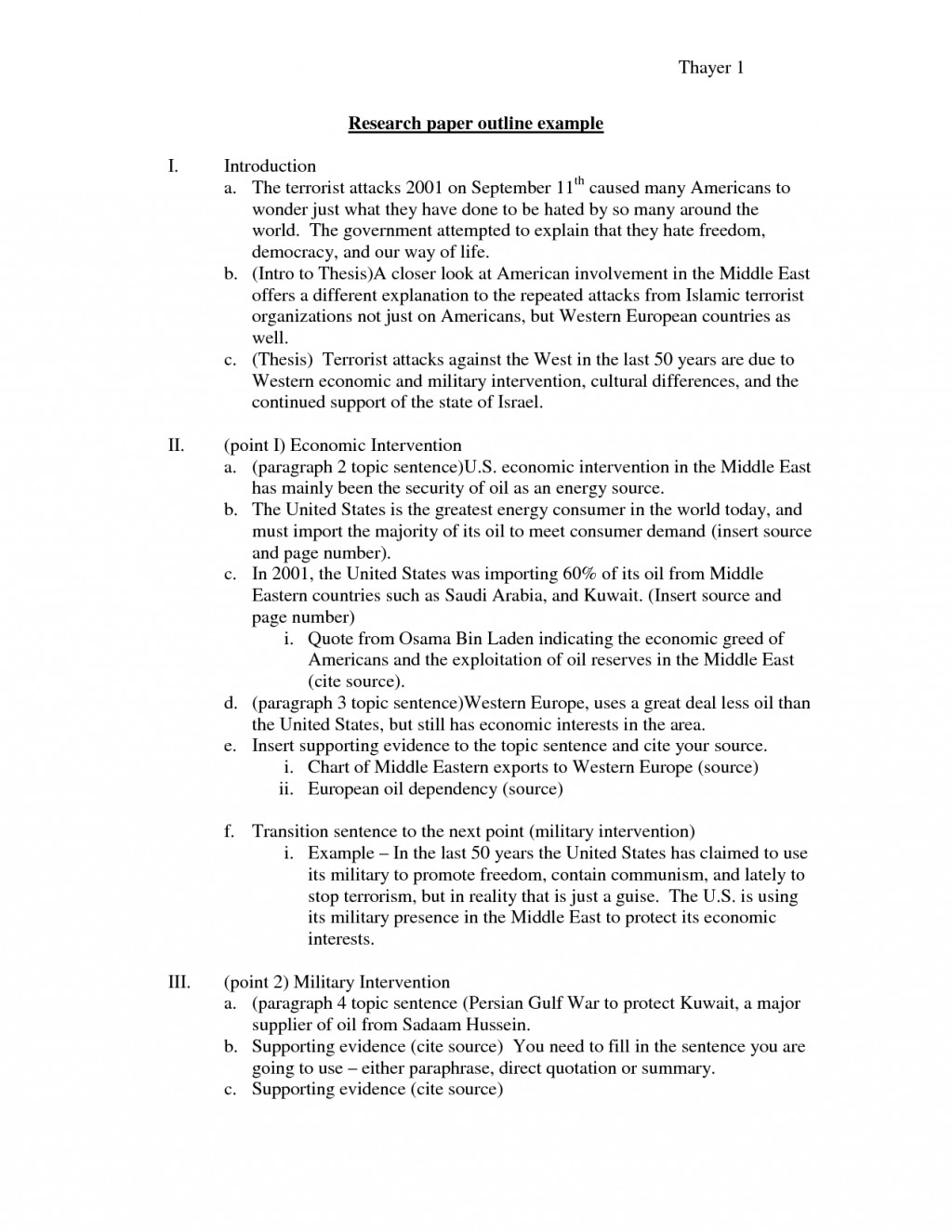 018 Basic Outline Format For Research Paper Sample 24985 Breathtaking Sentence College Simple Large