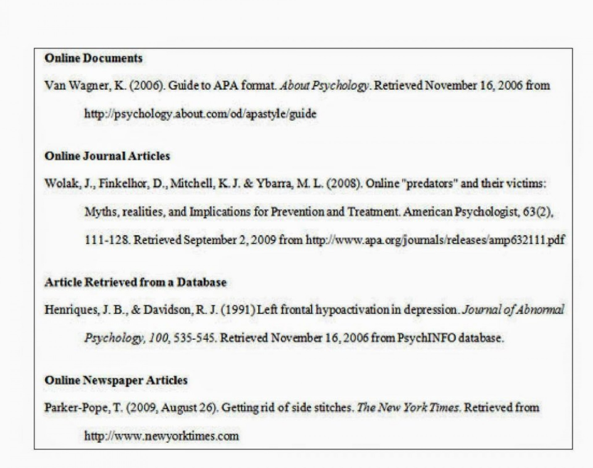 018 Career Research Paper Outline Example 20research Apa Format 6th Edition Sample20 Astounding 1920