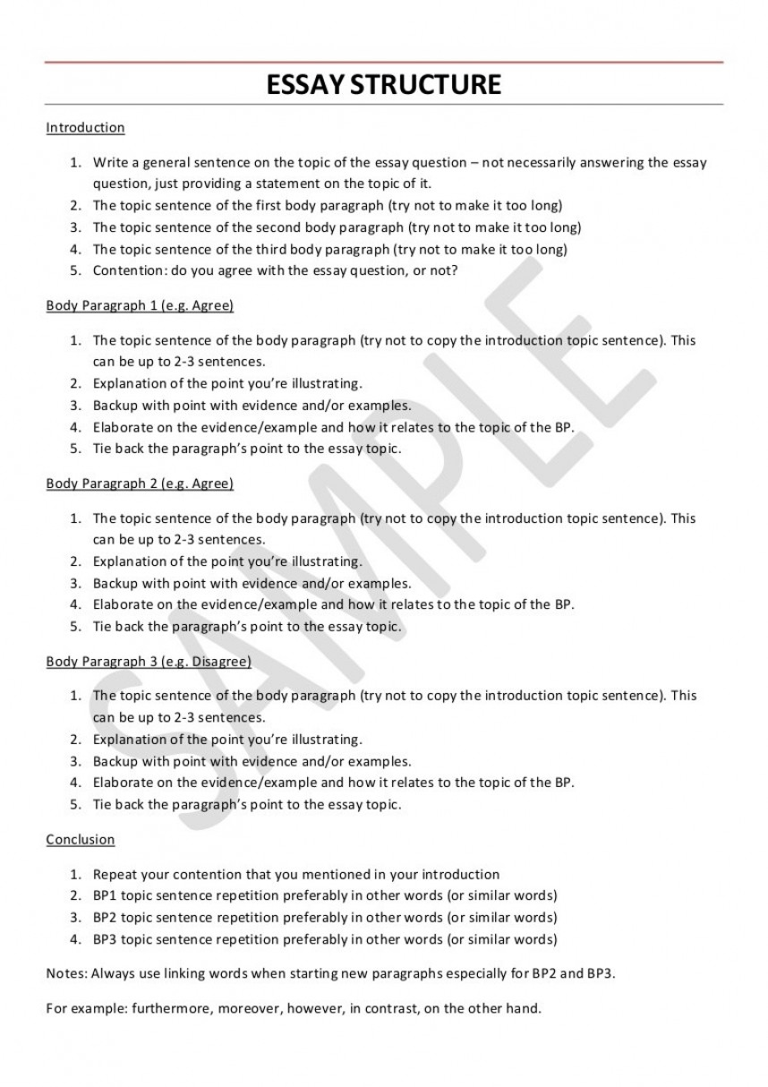 018 College English Research Paper Example Essaystructure Phpapp02 Thumbnail Unusual