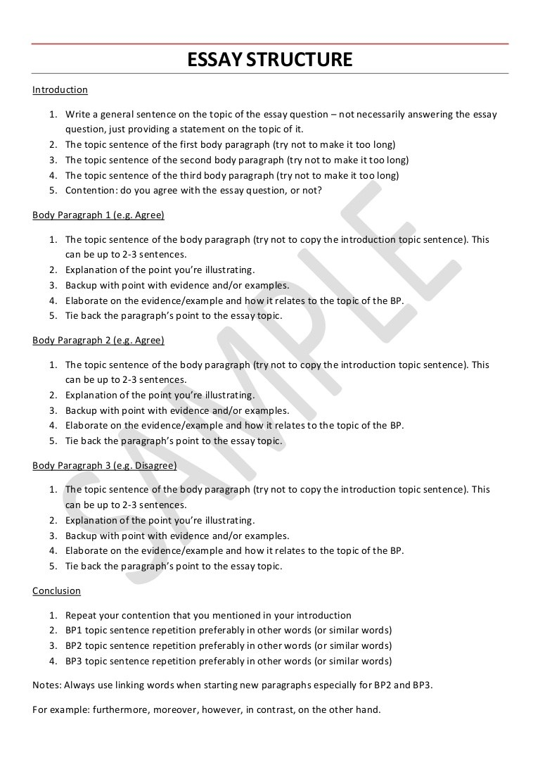 018 College English Research Paper Example Essaystructure Phpapp02 Thumbnail Unusual Full