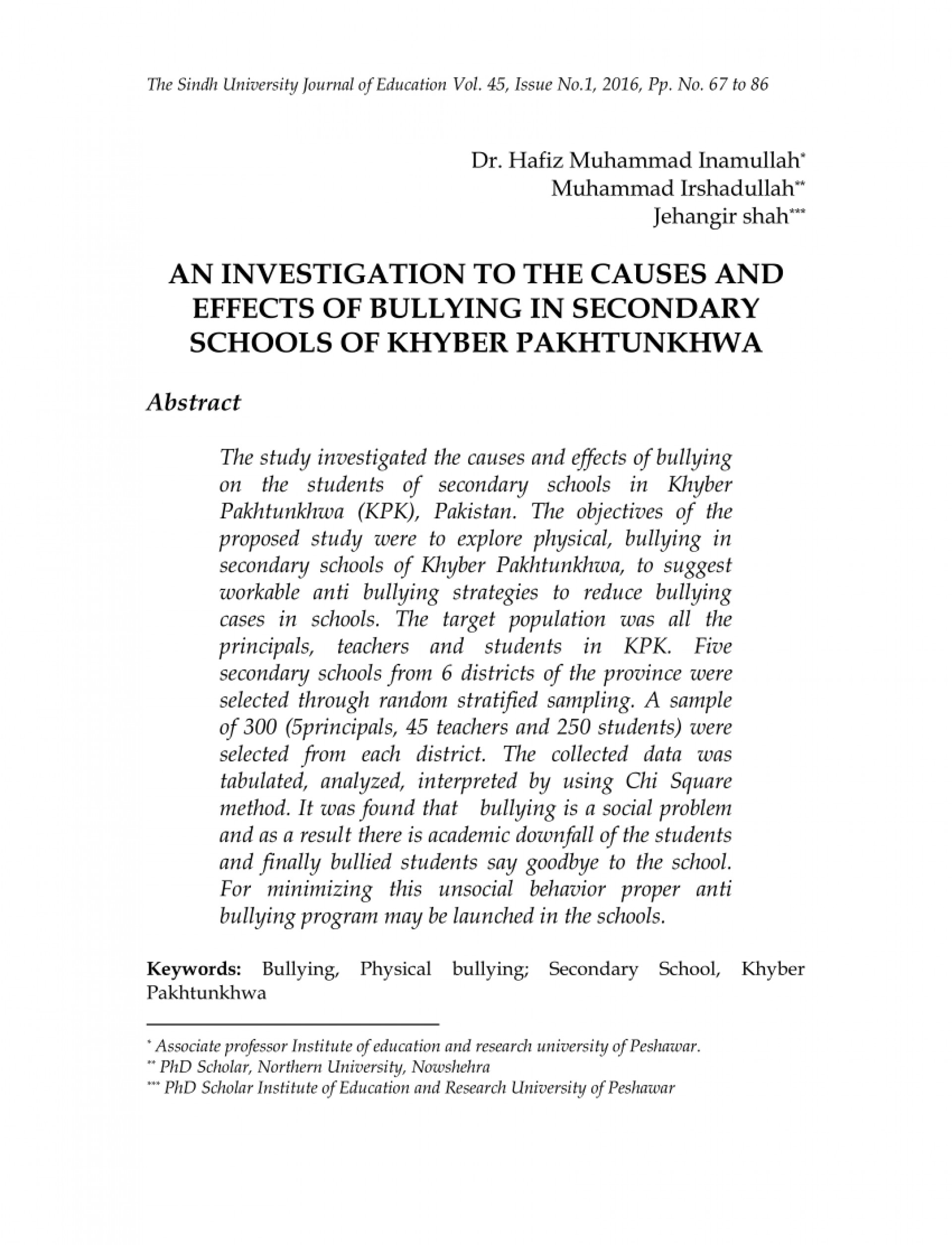 018 Conclusion Bullying Research Paper Dreaded 1920