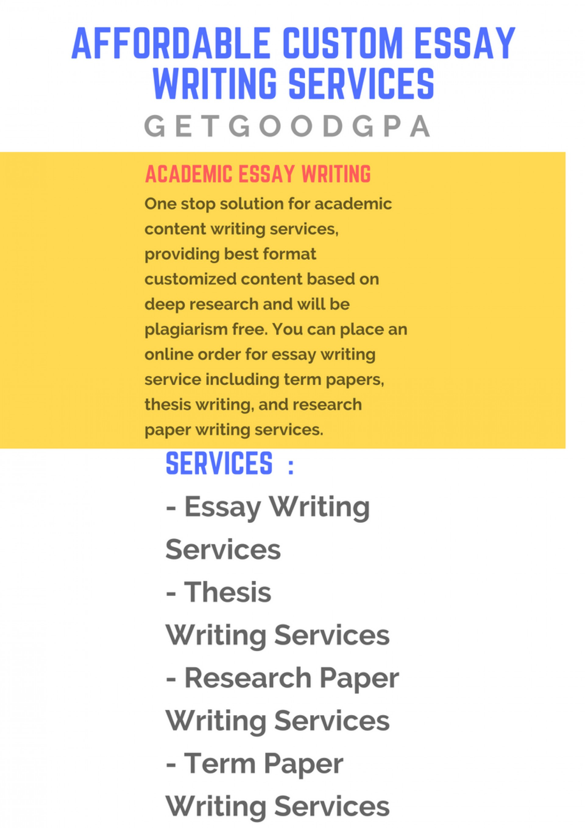 018 Customized Research Paper Affordable Custom Essay Writing Awesome 1920