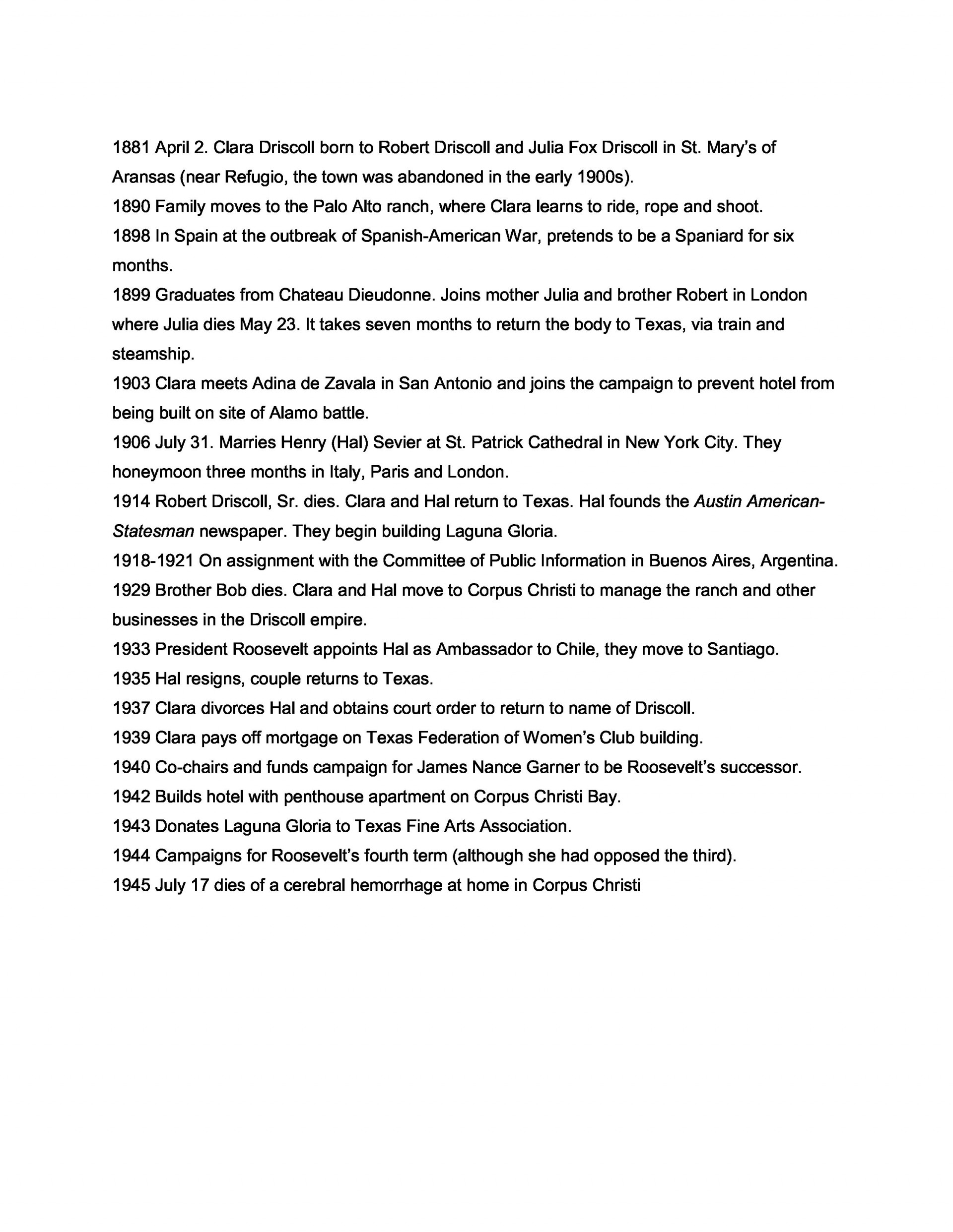 018 Example Of An Informal Outline For Research Paper Driscoll Singular A 1920