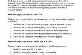 018 How To Do Research Paper Marvelous Write A Good Review College Outline 320