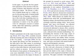 018 Largepreview Psychology Research Paper On Singular Dreams Topics Questions News Articles