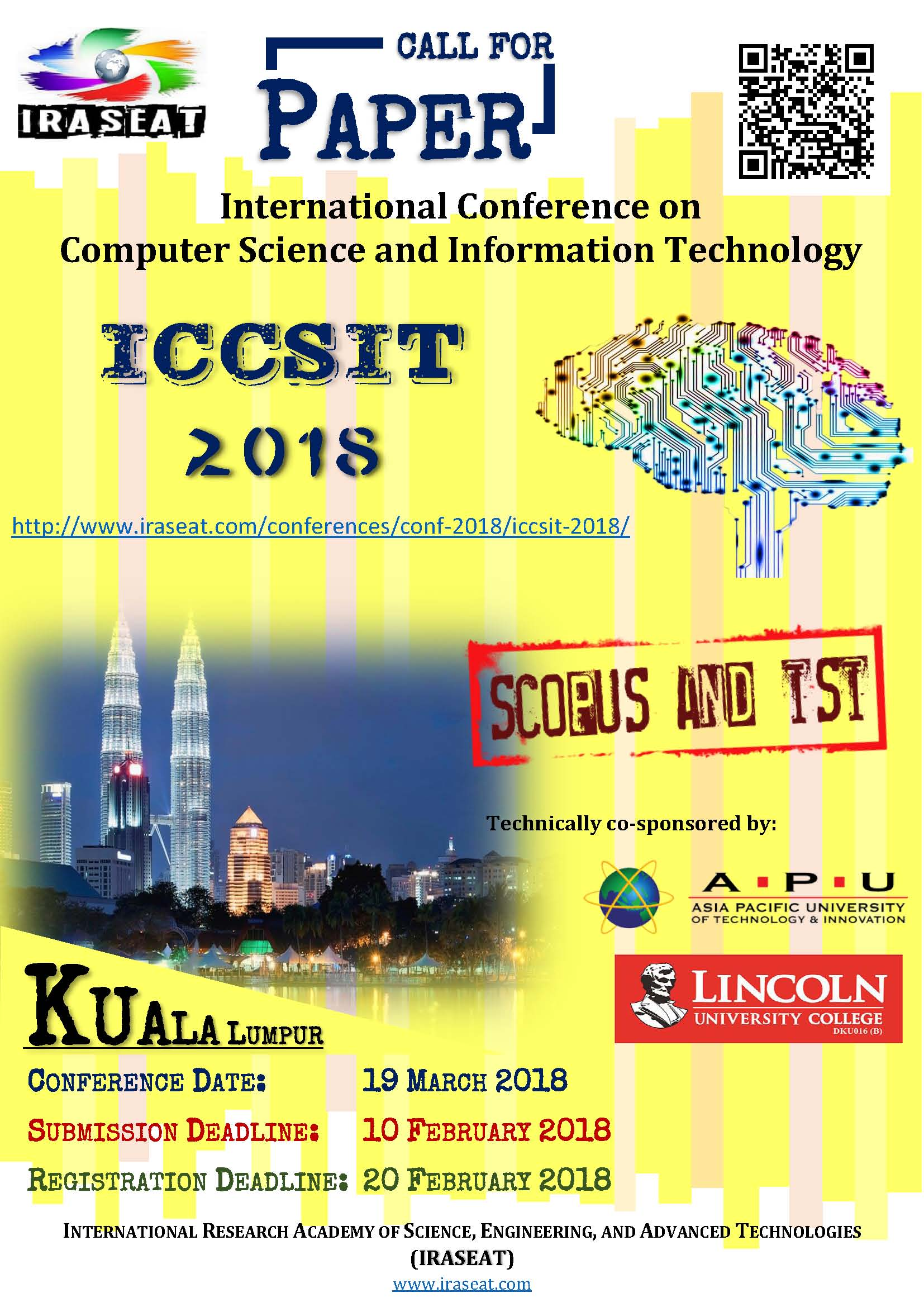 018 Latest Researchs In Computer Science Cfp Iccsit Dreaded Research Papers 2018 Paper Full
